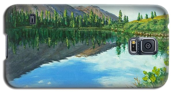 Virginia Lake Galaxy S5 Case