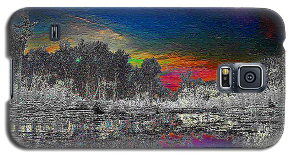 Galaxy S5 Case featuring the photograph Virginia Landscape Art #1  by Digital Art Cafe