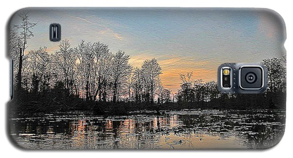 Galaxy S5 Case featuring the photograph Virginia Landscape Art #1b by Digital Art Cafe