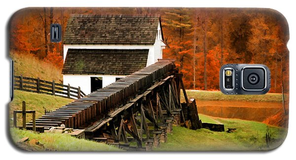 Galaxy S5 Case featuring the photograph Virginia Mill by Mary Timman