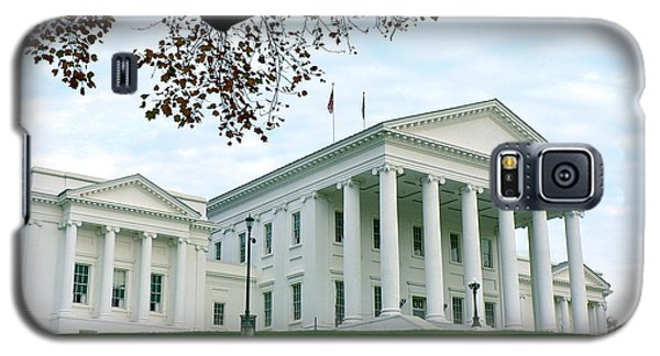 Virginia State Capitol In Autumn Galaxy S5 Case