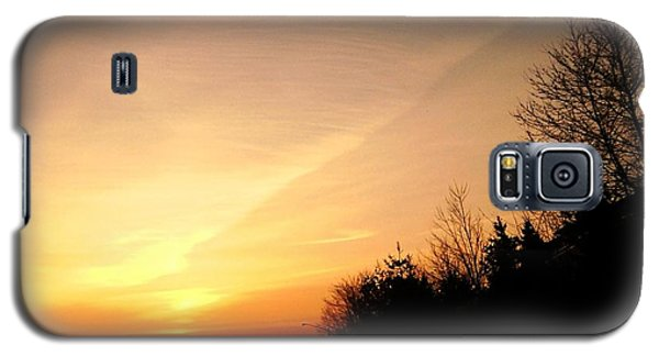 Galaxy S5 Case featuring the photograph Virginia Sunset by Carlee Ojeda