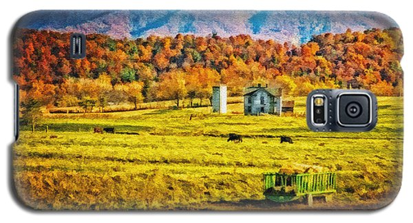 Galaxy S5 Case featuring the photograph Virginia Valley by Mary Timman