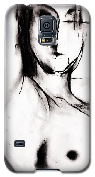 Galaxy S5 Case featuring the drawing Vision by Helen Syron