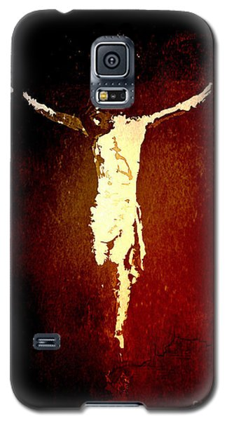 Vision Of Christ Galaxy S5 Case by J Jaiam