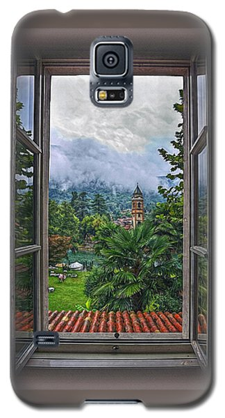 Galaxy S5 Case featuring the photograph Vision Through The Window by Hanny Heim