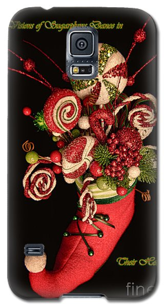 Visions Of Sugarplums Dance In Their Heads Galaxy S5 Case