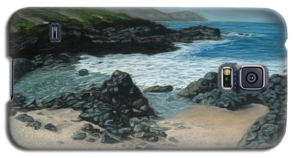 Visitor At Kaena Point Galaxy S5 Case