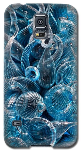 Vitreous Azure Abstract Galaxy S5 Case
