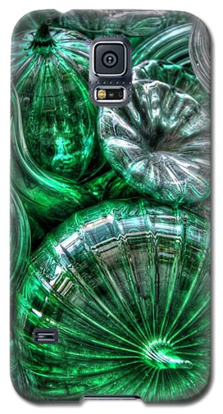 Vitreous Verdant Abstract Galaxy S5 Case