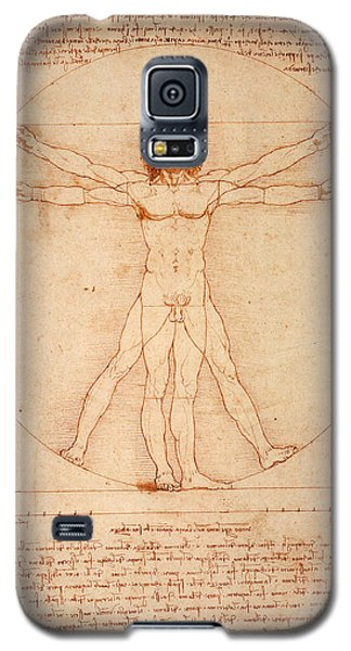 Vitruvian Man Galaxy S5 Case