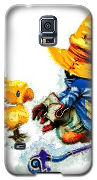 Vivi And The Chocobo Galaxy S5 Case