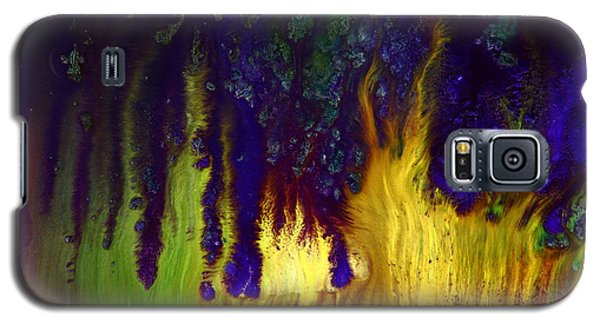 Vivid Abstract Flaming Darkness By Kredart Galaxy S5 Case