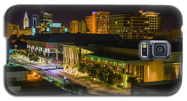 Vividly Downtown Baton Rouge Galaxy S5 Case by Andy Crawford