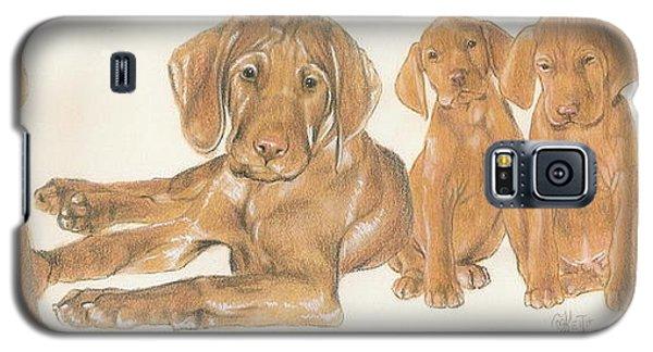 Vizsla Puppies Galaxy S5 Case