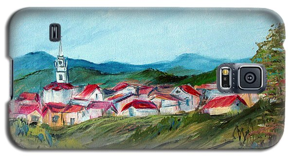 Vladeni Ardeal - Village In Transylvania Galaxy S5 Case by Dorothy Maier