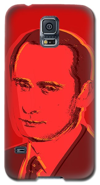 Vladimir Putin Galaxy S5 Case by Jean luc Comperat