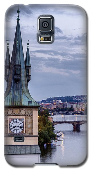 Vltava River In Prague Galaxy S5 Case