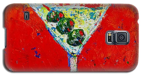 Vodka Martini Shaken Not Stirred - Martini Lovers - Modern Art Galaxy S5 Case