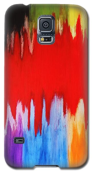 Galaxy S5 Case featuring the painting Voice by Michael Cross