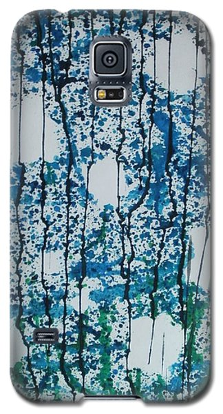 Galaxy S5 Case featuring the painting Void Of Life by Thomasina Durkay