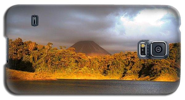Volcano Lake Galaxy S5 Case by Julia Ivanovna Willhite