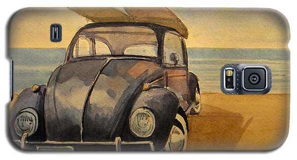 Beetle Galaxy S5 Case - Volkswagen Beetle by Juan  Bosco