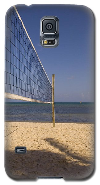 Vollyball Net On The Beach Galaxy S5 Case