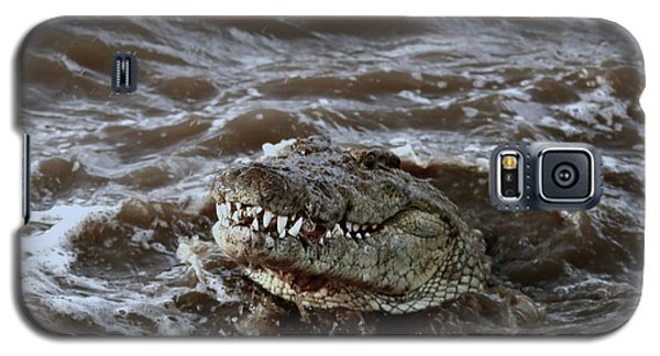 Voracious Crocodile In Water Galaxy S5 Case