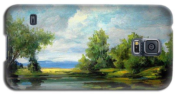 Voronezh River Beauty Galaxy S5 Case