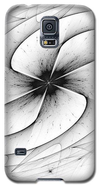 Galaxy S5 Case featuring the digital art Vortex by Arlene Sundby