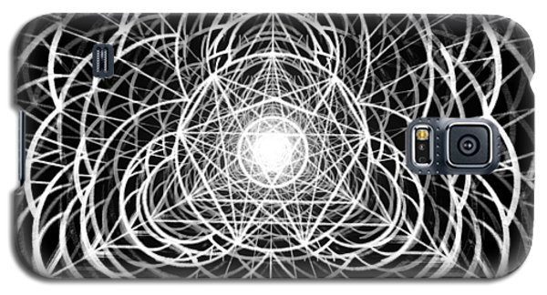 Galaxy S5 Case featuring the drawing Vortex Equilibrium by Derek Gedney