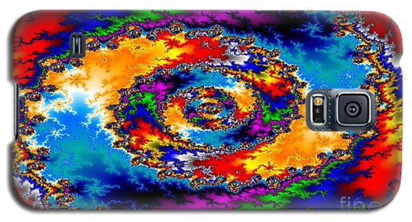 Galaxy S5 Case featuring the digital art Vortex by Steed Edwards