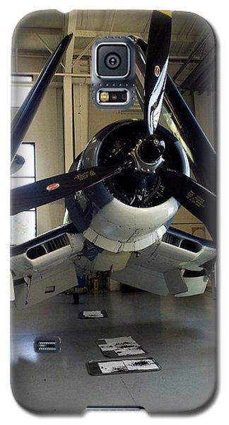 Galaxy S5 Case featuring the photograph Vought Fg-1d Corsair by Rebecca Davis
