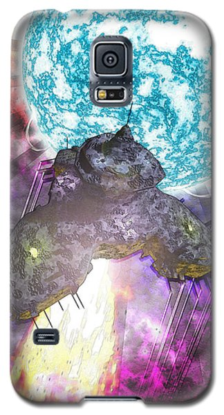 Galaxy S5 Case featuring the digital art Voyage by Matt Lindley