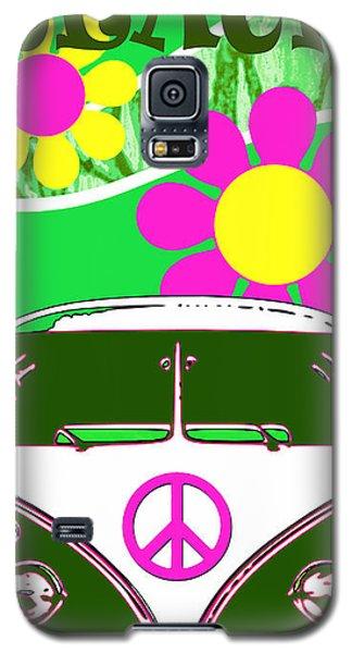 Vw Beach  Green Galaxy S5 Case