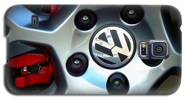 Vw Gti Wheel Galaxy S5 Case