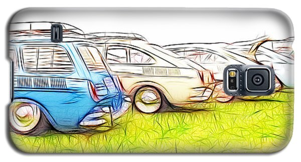 Vw Squareback Art Galaxy S5 Case