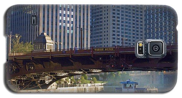 Galaxy S5 Case featuring the photograph Wabash Street Bridge by John Hansen