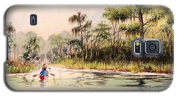Wacissa River  Galaxy S5 Case by Bill Holkham