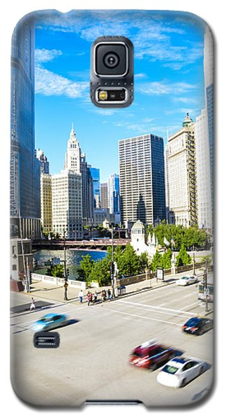 Wacker And State  Galaxy S5 Case by Michael  Bennett