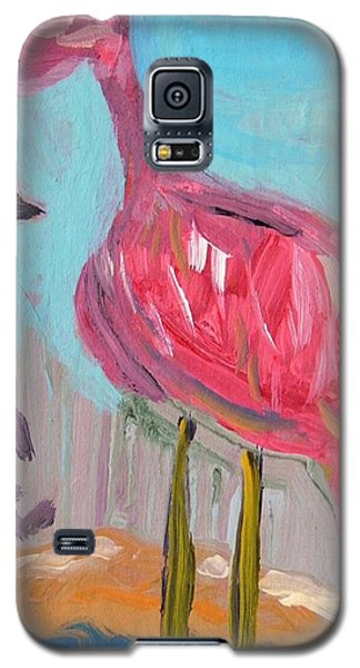 Galaxy S5 Case featuring the painting Wade Right On In by Mary Carol Williams