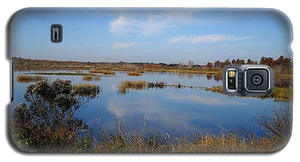 Wading Bird Way  Galaxy S5 Case by Chris Mercer