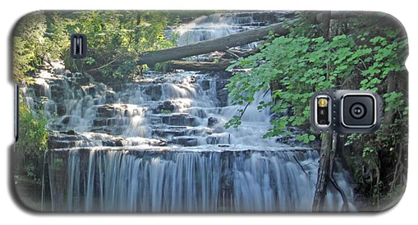 Wagner Falls  Soft Water Effect Galaxy S5 Case by Bill Woodstock