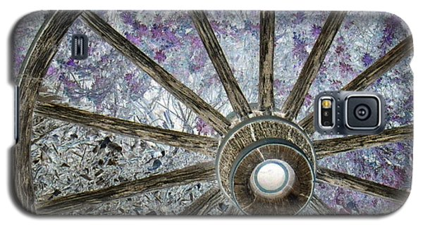 Galaxy S5 Case featuring the photograph Wagon Wheel Study 1 by Sylvia Thornton