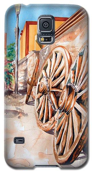 Wagon Wheels Galaxy S5 Case