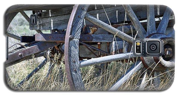 Wagon Wheels Nevada City Galaxy S5 Case