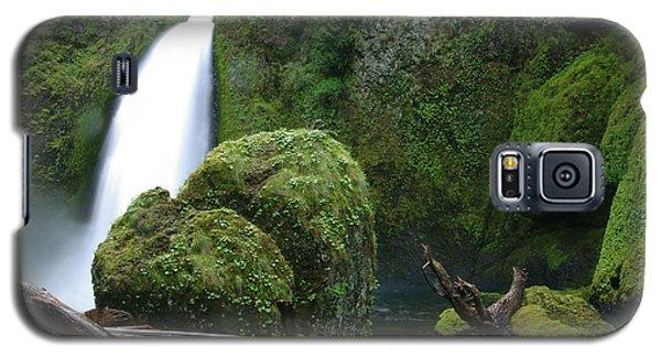 Wahclella Falls And Boulder Galaxy S5 Case