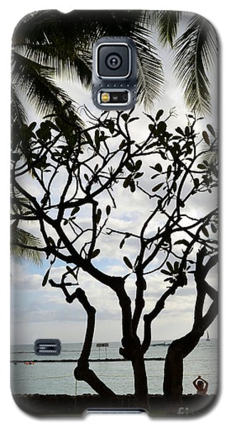 Waikiki Beach Hawaii Galaxy S5 Case