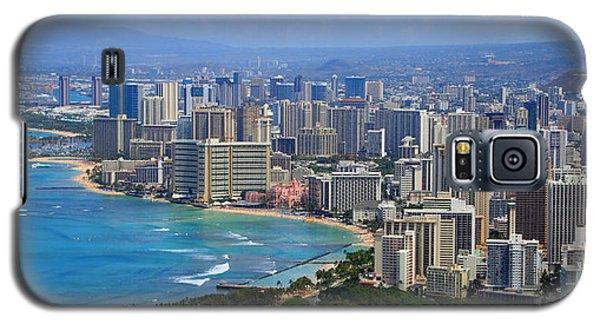 Waikiki Galaxy S5 Case by Kara  Stewart